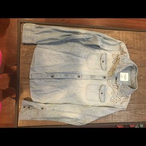 Ladies American Eagle jeans shirt